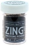American Crafts Zing Embossing Powders - Glitter 1 Oz