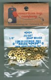 "American Tag Embellishments - 1/8"" Brass Snaps, 20 Sets"