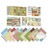 American Traditional - Going Places - Scrapbook Bundle - 500 piece