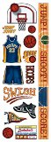 American Traditional  - Sports - Stickers Basketball