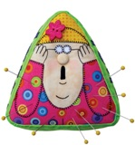 Amy Bradley Designs Pattern - Ms. Pinny Cush Pincushion Pattern