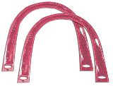 Blumenthal Handbag Purse Handle - Pink Glitter Arch Acrylic Handle