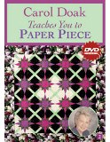 C & T Publishing - Carol Doak Teaches You to Paper Piece DVD