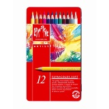 Caran d'Ache Supracolor Watercolour (watercolor) Pencils - 12 colours