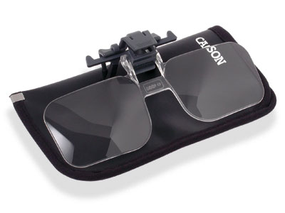 Carson Clip & Flip Magnifying Glasses