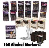 Spectrum Noir Alcohol Marker Complete Set - Bundle All 168 Colors and Accessories