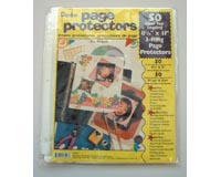 Darice Clear Page Protectors  8.5x11- 50 ct.