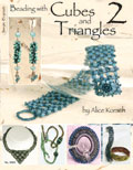 Design Originals Book - Beading with Cubes and Triangles 2 Book
