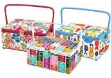 "Dritz St. Jane Large Sewing Basket - 14""X10""X6-1/2"