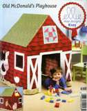 Ellie Mae Designs - Old McDonald's Playhouse (Pattern for a Card Table Playhouse)