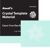 "Kandi Corp Crystal Template Material 9"" X 36"" Roll"