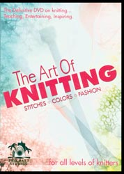 Leisure Arts - The Art of Knitting DVD