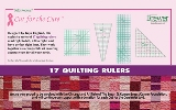 Nifty Notions Ruler Collection - Cut for the Cure